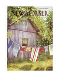 The New Yorker Cover - July 28  1956