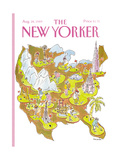 The New Yorker Cover - August 28  1989
