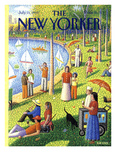 The New Yorker Cover - July 15  1991