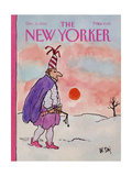 The New Yorker Cover - December 31  1984