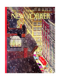 The New Yorker Cover - December 7  1992