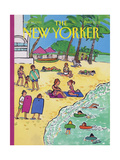 The New Yorker Cover - January 20  1992