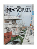 The New Yorker Cover - August 25  1986