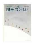 The New Yorker Cover - February 27  1984