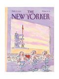 The New Yorker Cover - February 17  1992