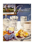 Gourmet Cover - November 1952