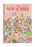 The New Yorker Cover - November 28  1983