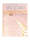 The New Yorker Cover - March 28  1983
