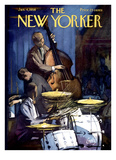 The New Yorker Cover - January 4  1958