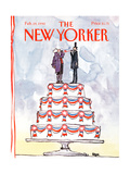 The New Yorker Cover - February 19  1990