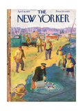 The New Yorker Cover - April 18  1953