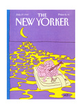 The New Yorker Cover - July 27  1987