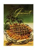 Gourmet Cover - September 1954