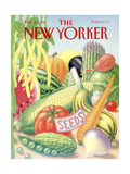 The New Yorker Cover - March 26  1990