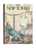 The New Yorker Cover - February 27  1960