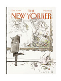 The New Yorker Cover - December 5  1988