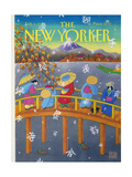 The New Yorker Cover - February 3  1992