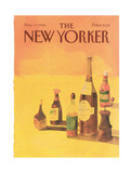 The New Yorker Cover - November 17  1986