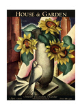 House & Garden Cover - April 1929