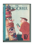 The New Yorker Cover - April 21  1934