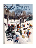 The New Yorker Cover - February 26  1955