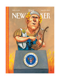 The New Yorker Cover - January 22  2007