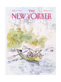 The New Yorker Cover - July 27  1992