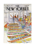 The New Yorker Cover - January 21  1980