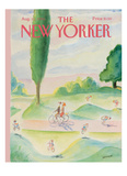 The New Yorker Cover - August 11  1986