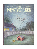 The New Yorker Cover - October 21  1991