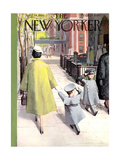 The New Yorker Cover - April 14  1956