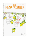 The New Yorker Cover - October 22  1979