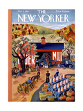 The New Yorker Cover - October 4  1941