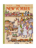 The New Yorker Cover - December 14  1987