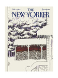 The New Yorker Cover - February 7  1983