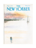 The New Yorker Cover - August 5  1985
