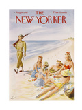 The New Yorker Cover - August 14  1943