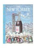 The New Yorker Cover - January 1  1990