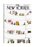 The New Yorker Cover - March 17  1975