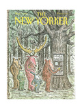 The New Yorker Cover - May 7  1990