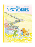 The New Yorker Cover - September 21  1992
