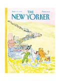 The New Yorker Cover - September 21  1992