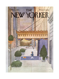 The New Yorker Cover - March 8, 1976 Giclee par Charles E. Martin