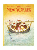 The New Yorker Cover - July 16  1990