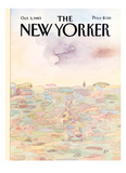 The New Yorker Cover - October 3  1983