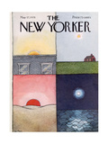 The New Yorker Cover - May 17  1976