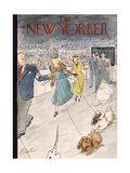 The New Yorker Cover - February 12  1955
