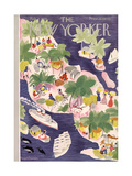 The New Yorker Cover - February 2  1935