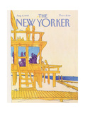 The New Yorker Cover - August 8  1983