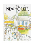 The New Yorker Cover - September 8  1986